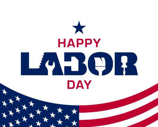 Labor Day Closure Notice 2021